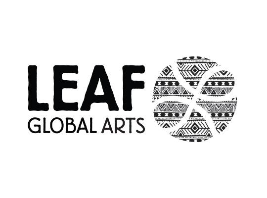 LEAF Global Arts logo