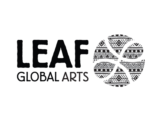 LEAF Global Arts logo