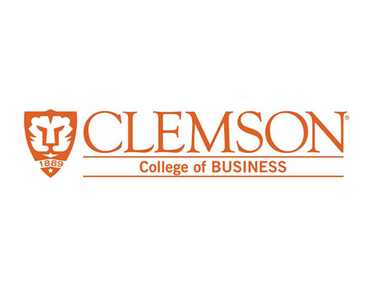 Clemson College of Business logo