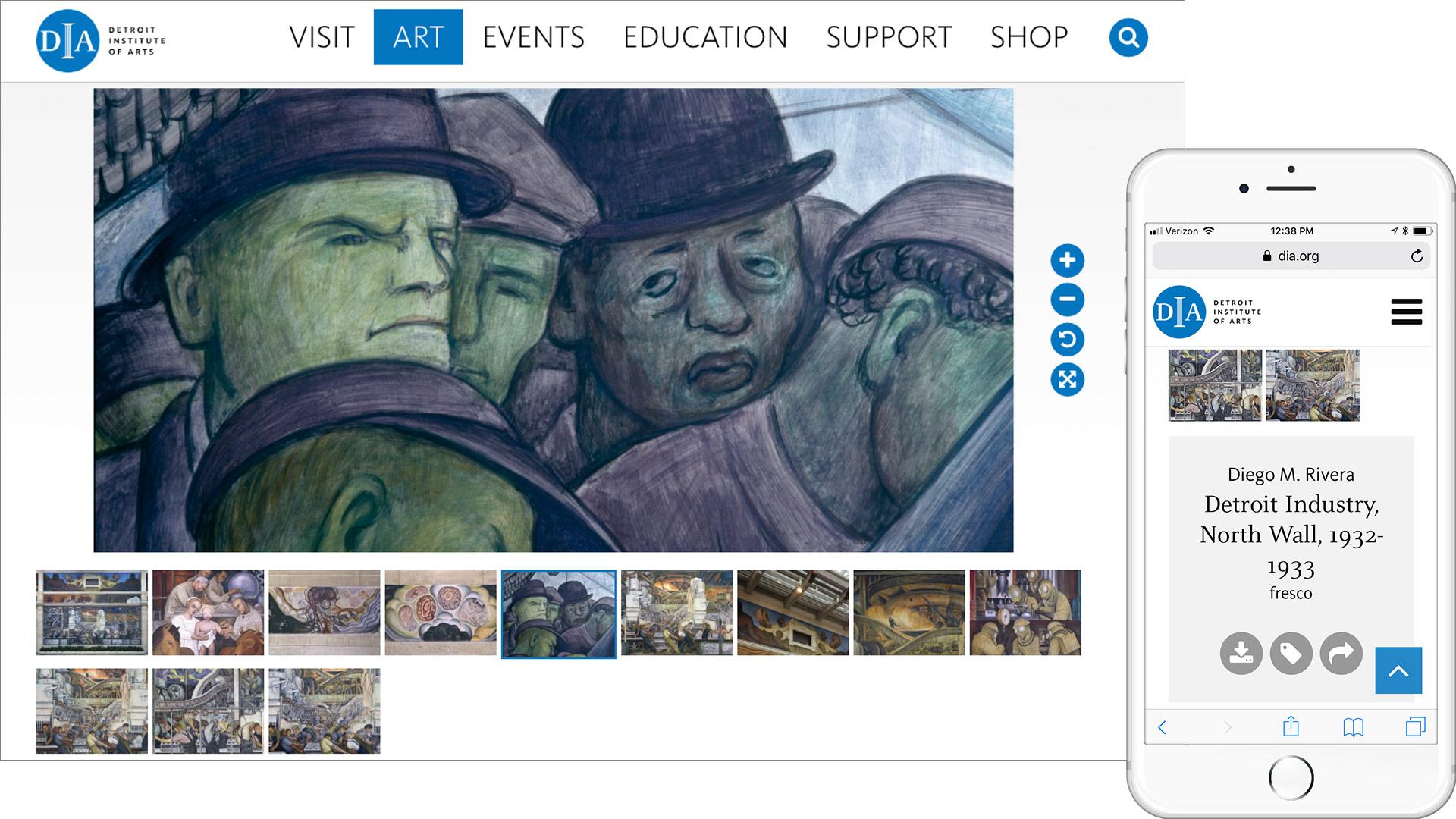 Detroit Institute of Arts online gallery